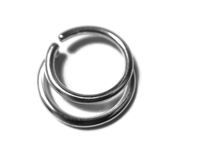 Double Layered Septum Ring