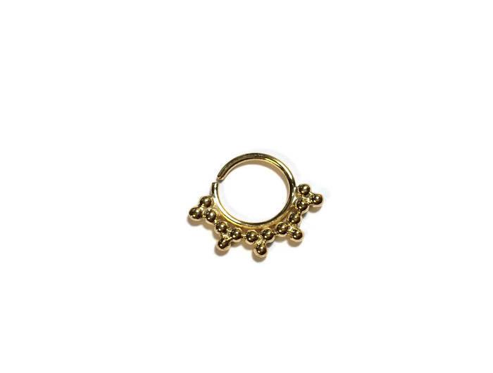 Gold Septum Ring