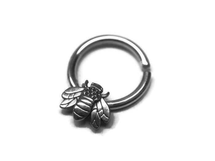 Honey Bee Septum Ring