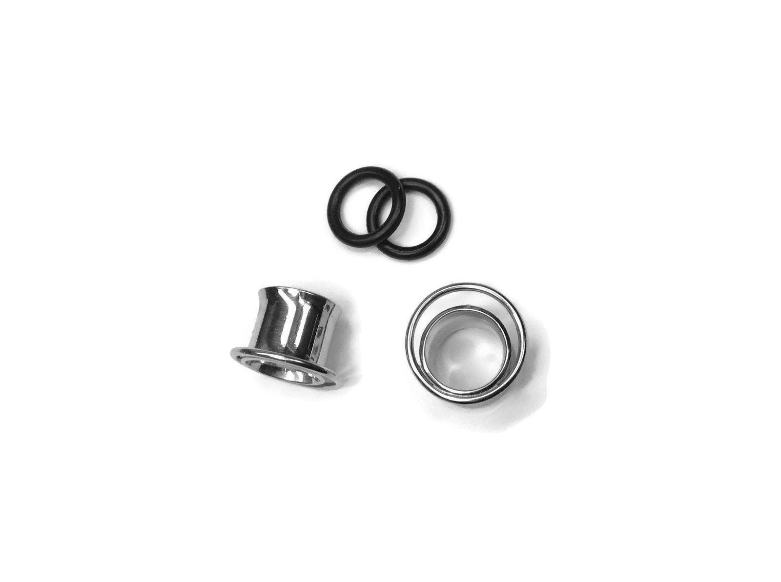 Large Orb Plug Earrings