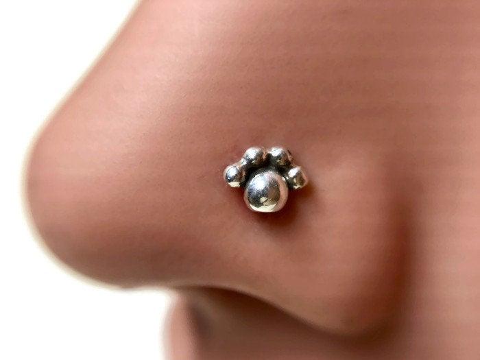 Paw Print Nose Stud Dinan Rings