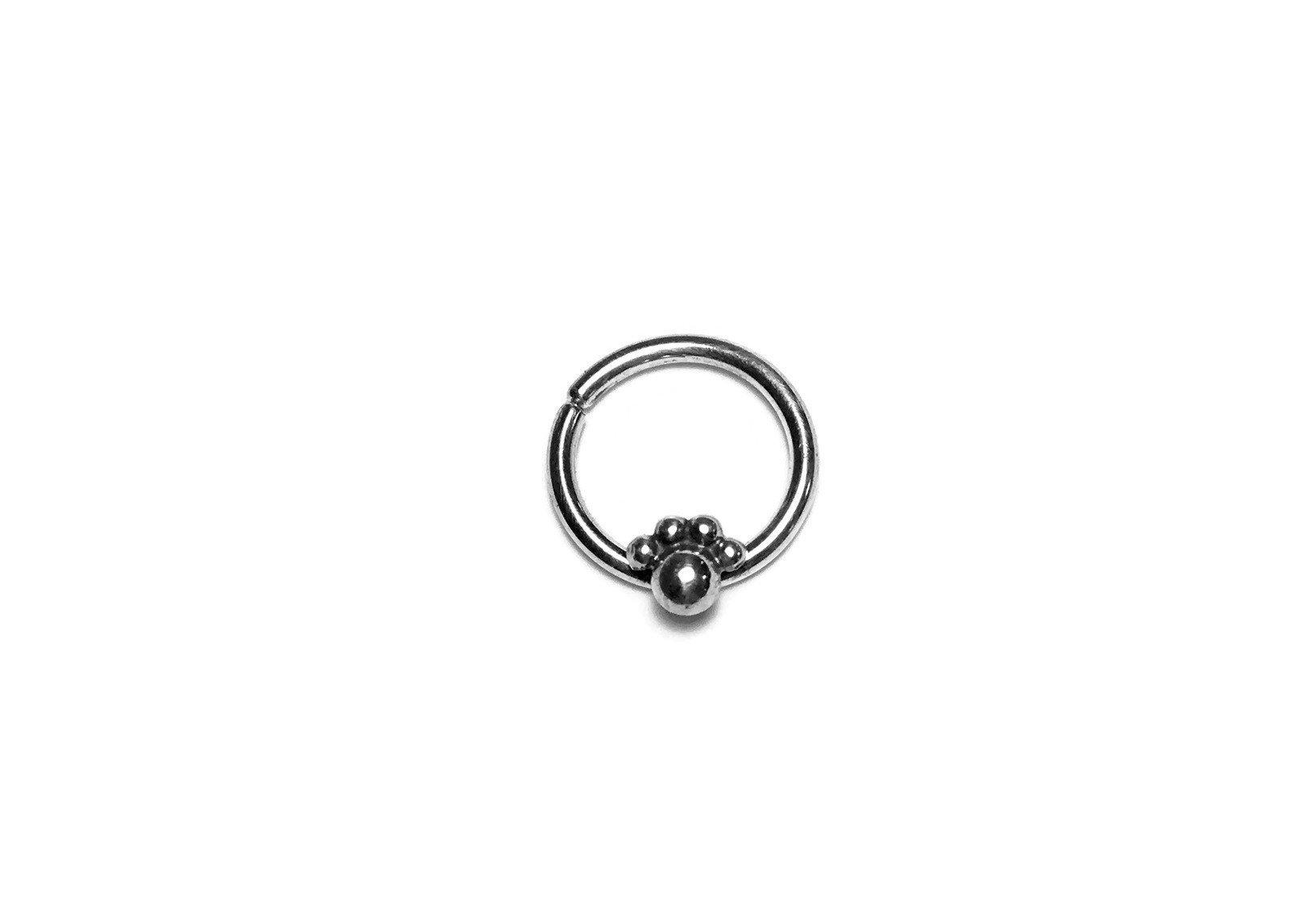 Paw Print Septum Ring