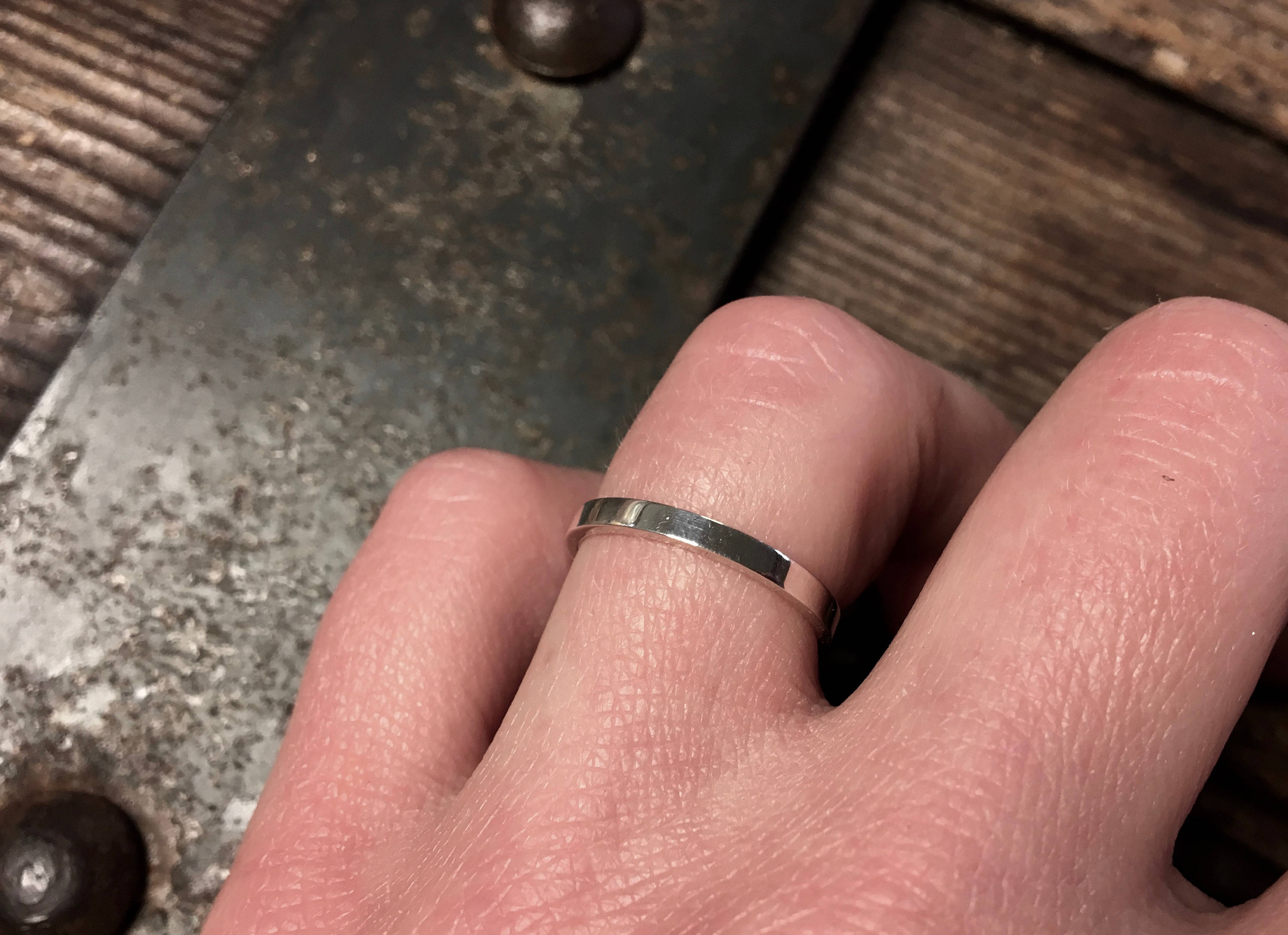 Plain Square Band 2mm