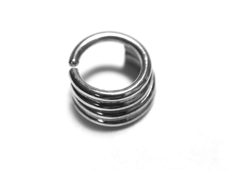 Quadruple Straight Stacked Septum Ring
