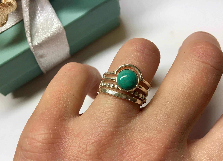 Turquoise Bezel Ring